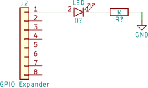 LED test schematic